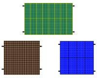 Solar panels Royalty Free Stock Image