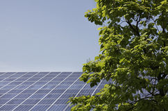 Solar panels. For solar energy industries stock photo