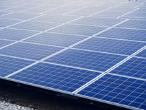 Solar Panels Energy saving Ecology Industry. Solar Panels Energy saving Ecology Renewable Industry Royalty Free Stock Image