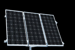 Solar panels for home use Stock Photography