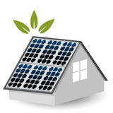 Solar Panels Icon Royalty Free Stock Photos