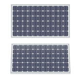 Solar panels isolated Stock Image