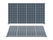 Solar panels isolated Royalty Free Stock Images