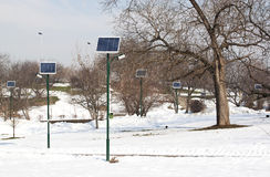 Solar panels - RAW format Royalty Free Stock Photos