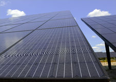 Solar Panels - making use of altenative energy through distributed solar power Stock Photography