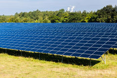 Solar panels. Natural resources and environment Stock Photo