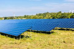 Solar panels. Natural resources and environment Stock Photography