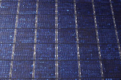Solar Panel Matrix Royalty Free Stock Images