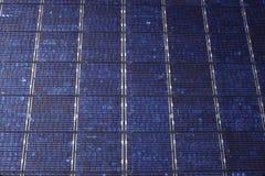 Solar Panel Matrix Royalty Free Stock Images