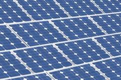 Solar panels, renewable green energy Royalty Free Stock Image