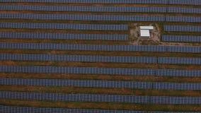 Solar panels 2 stock footage