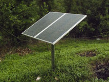 Solar Panels. Solar power cells more options Royalty Free Stock Images