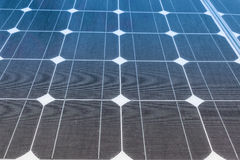 Solar Panels produce power, green energy concept Stock Photos