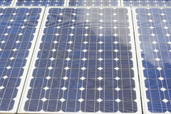 Solar Panels providing energy Stock Photography