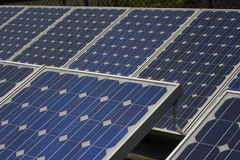 Solar Panels providing energy Royalty Free Stock Image