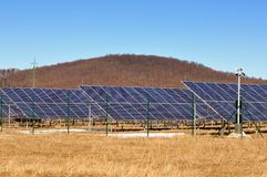 Solar panels for renewable energy Stock Photography