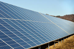 Solar panels for renewable energy Royalty Free Stock Photography