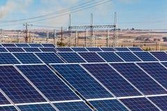 Solar panels and Renewable Energy Royalty Free Stock Photo