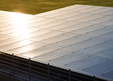 Solar Panels Renewable Energy Saving Ecology Industry system Royalty Free Stock Photography