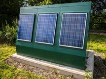 Solar Panels - Renewable Energy Royalty Free Stock Photography