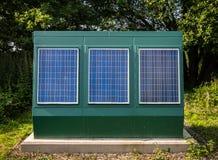 Solar Panels - Renewable Energy Royalty Free Stock Photos