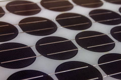 Solar panels of science. Stock Photos