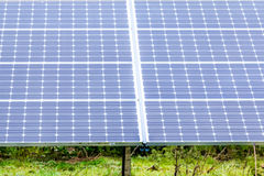 Solar Panels at Solar Farm England 2. Solar Panels at Sudbury Solar Farm Derbyshire England Royalty Free Stock Image