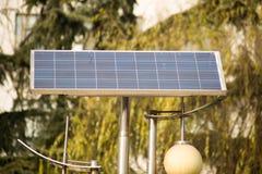 The solar panels Stock Image