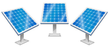 Solar Panels, Solar Power, Renewable Energy Stock Image
