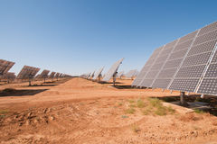 Solar panels, Spain Stock Photography