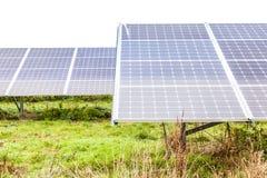 Solar Panels6. Solar Panels at Sudbury Solar Farm Derbyshire England stock image