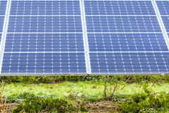 Solar Panels7. Solar Panels at Sudbury Solar Farm Derbyshire England Royalty Free Stock Photo