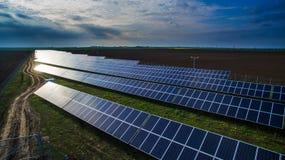 Solar panels Stock Photography