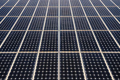 Solar panels surface Stock Images
