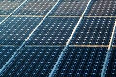 Solar panels surface Stock Photo