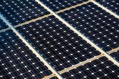 Solar panels surface Royalty Free Stock Photos
