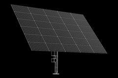Solar panels technology Stock Image