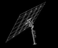 Solar panels technology Royalty Free Stock Images