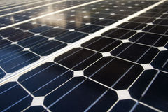 Solar panels texture Stock Photos
