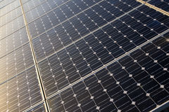 Solar panels texture Stock Images