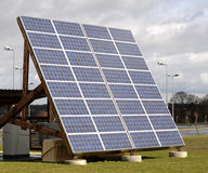 Solar pannel Stock Photography