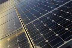 Solar pannels Stock Image