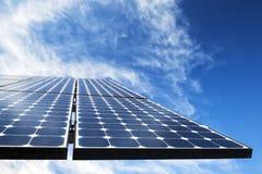 Solar Photovoltaic Cells Stock Photo