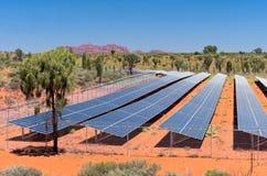 Solar Photovoltaic Energy in Australia Royalty Free Stock Photos