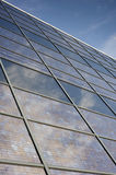 Solar Photovoltaic Glass Building Facace Royalty Free Stock Images