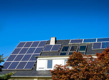 Solar (photovoltaic) panels Royalty Free Stock Images