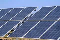 Solar photovoltaic panels Royalty Free Stock Image
