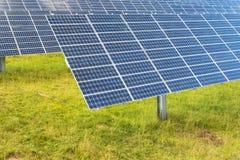 Solar photovoltaic panels power station Royalty Free Stock Photo