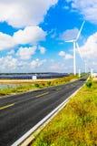 Solar photovoltaic power plant in Jiangsu Coastal Zone Stock Photography