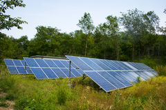Solar photovoltaic power station Royalty Free Stock Photo